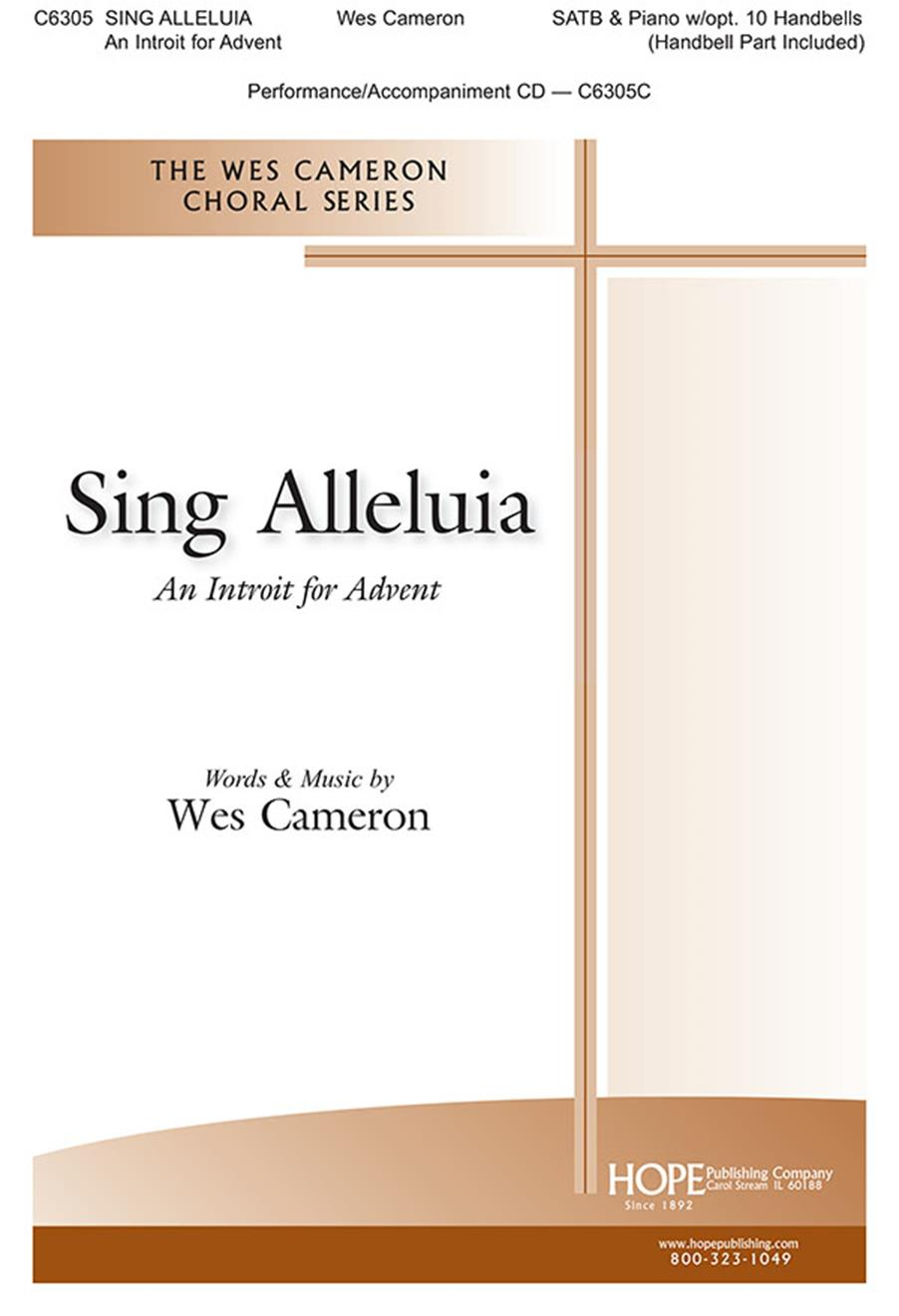 Sing Alleluia - SATB Cover Image