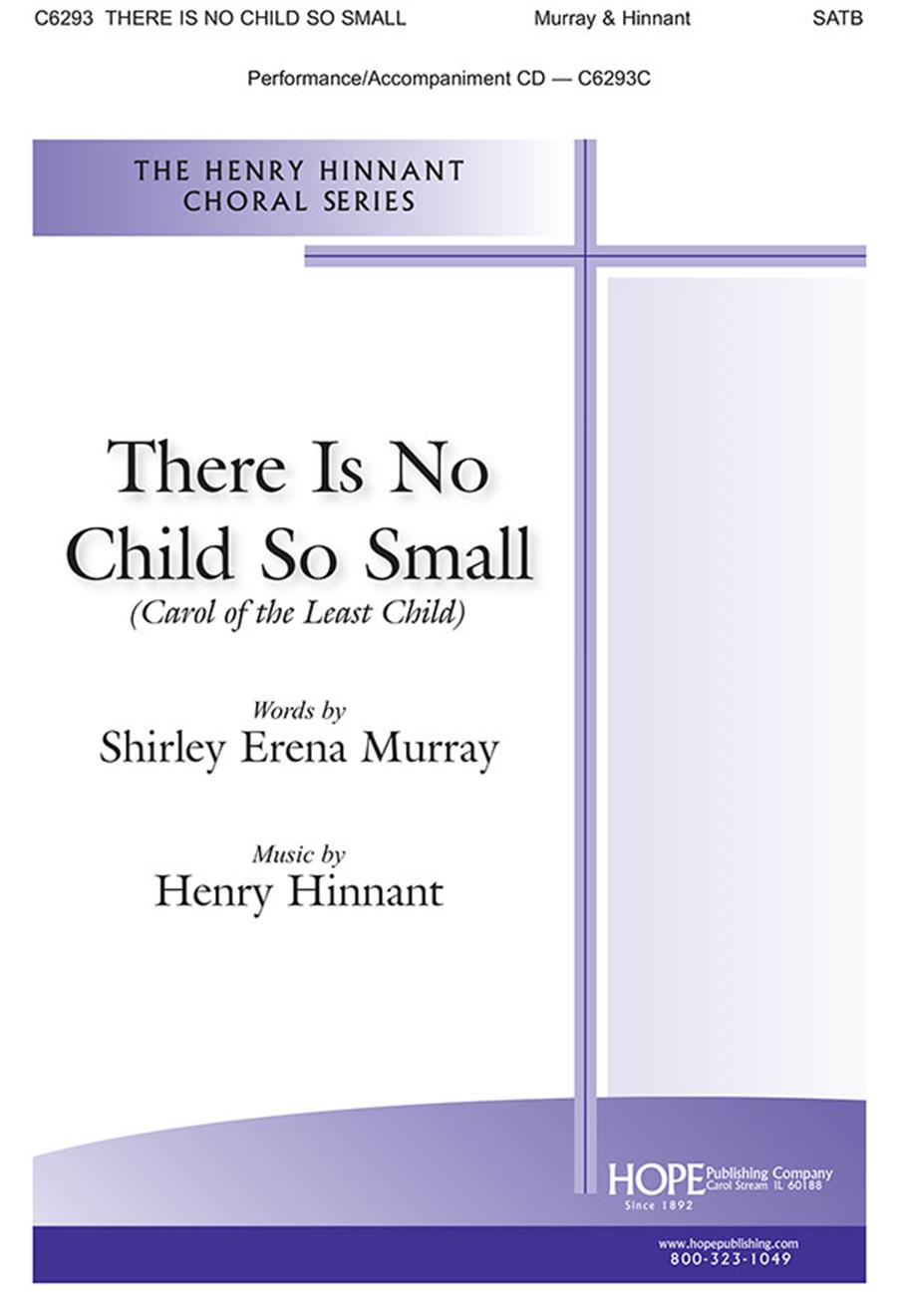 There Is No Small Child - SATB Cover Image