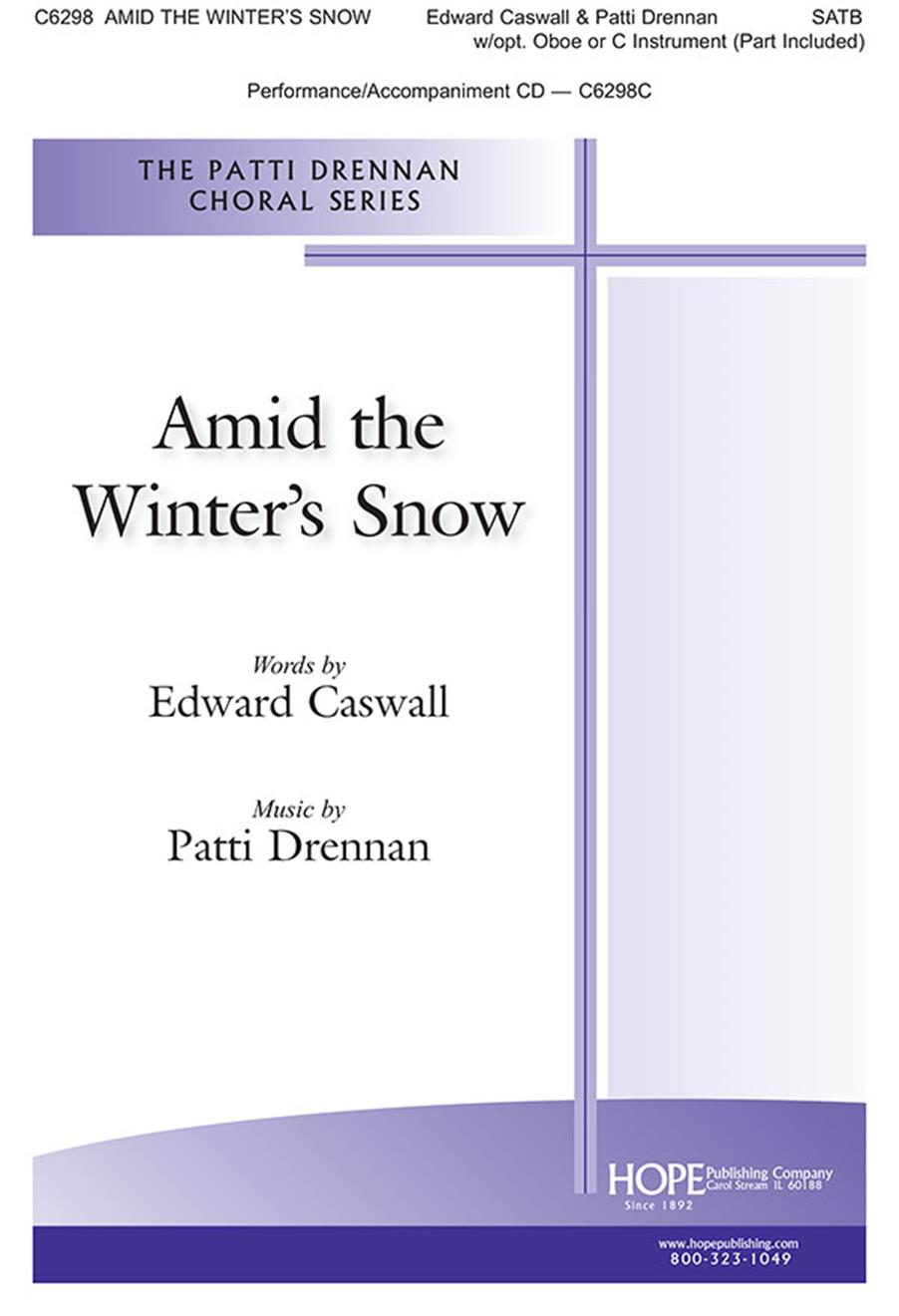 Amid the Winter's Snow - SATB Cover Image