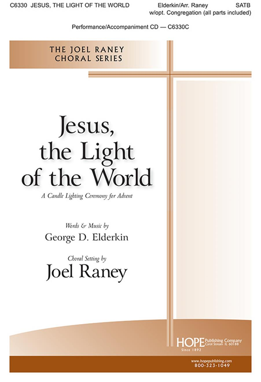 Jesus the Light of the World - SATB Cover Image
