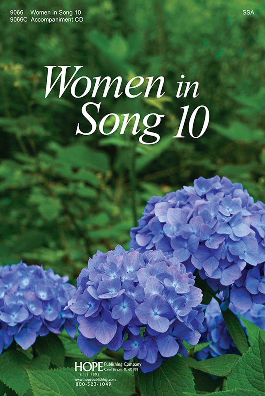 Women In Song 10 - Score Cover Image