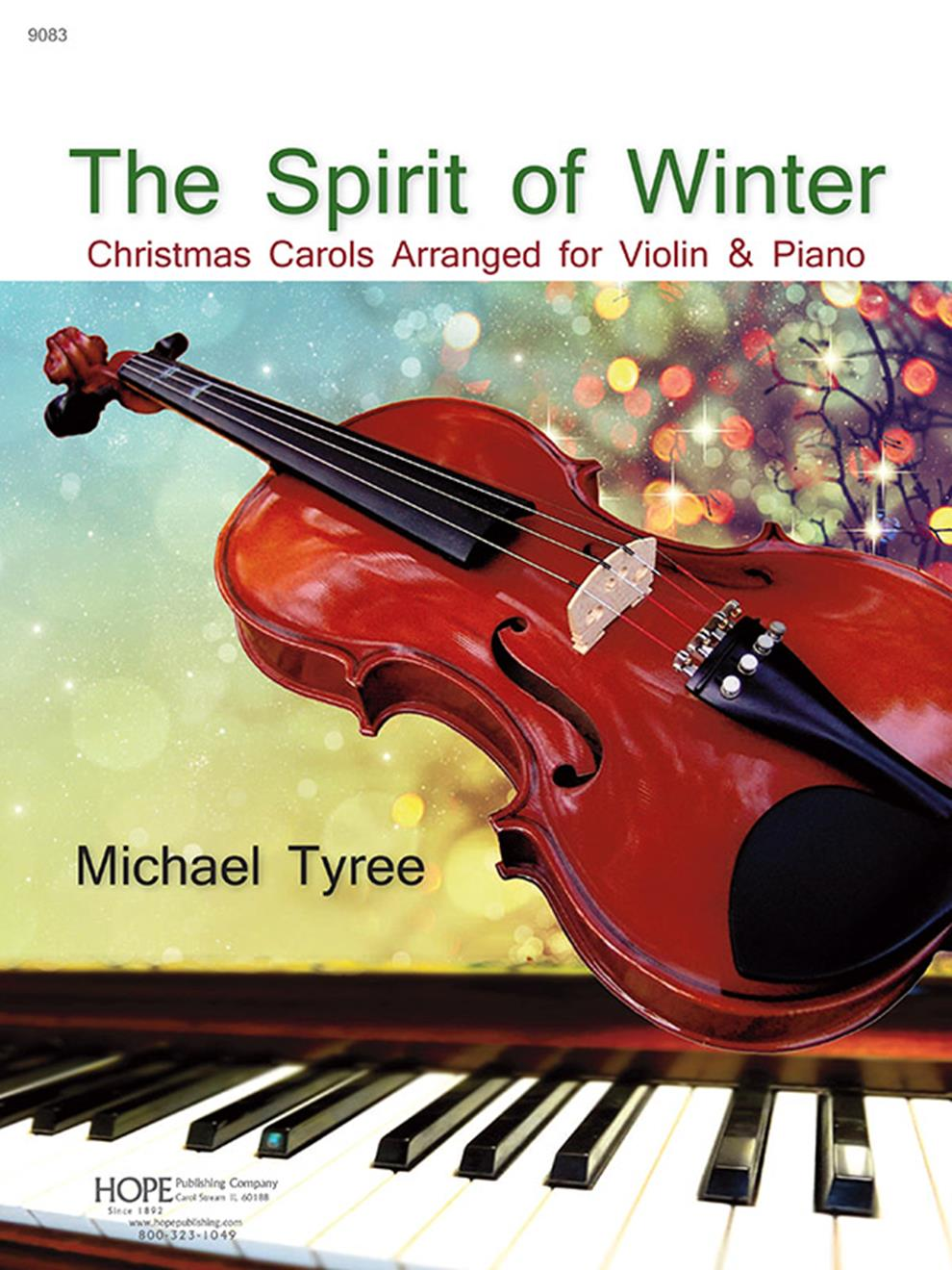 Spirit of Winter The - Violin collection w- piano accompaniment Cover Image