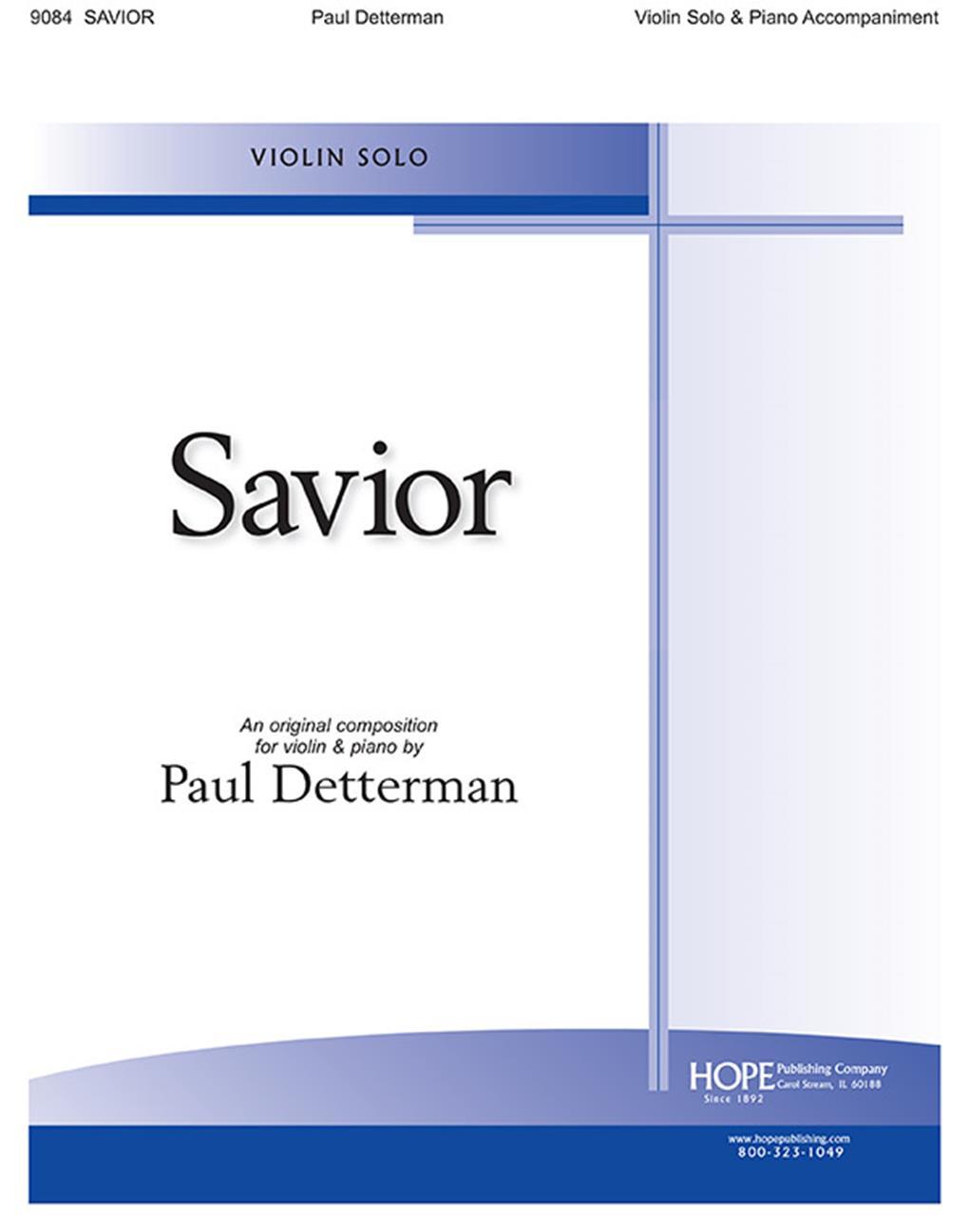Savior - Violin Solo Cover Image