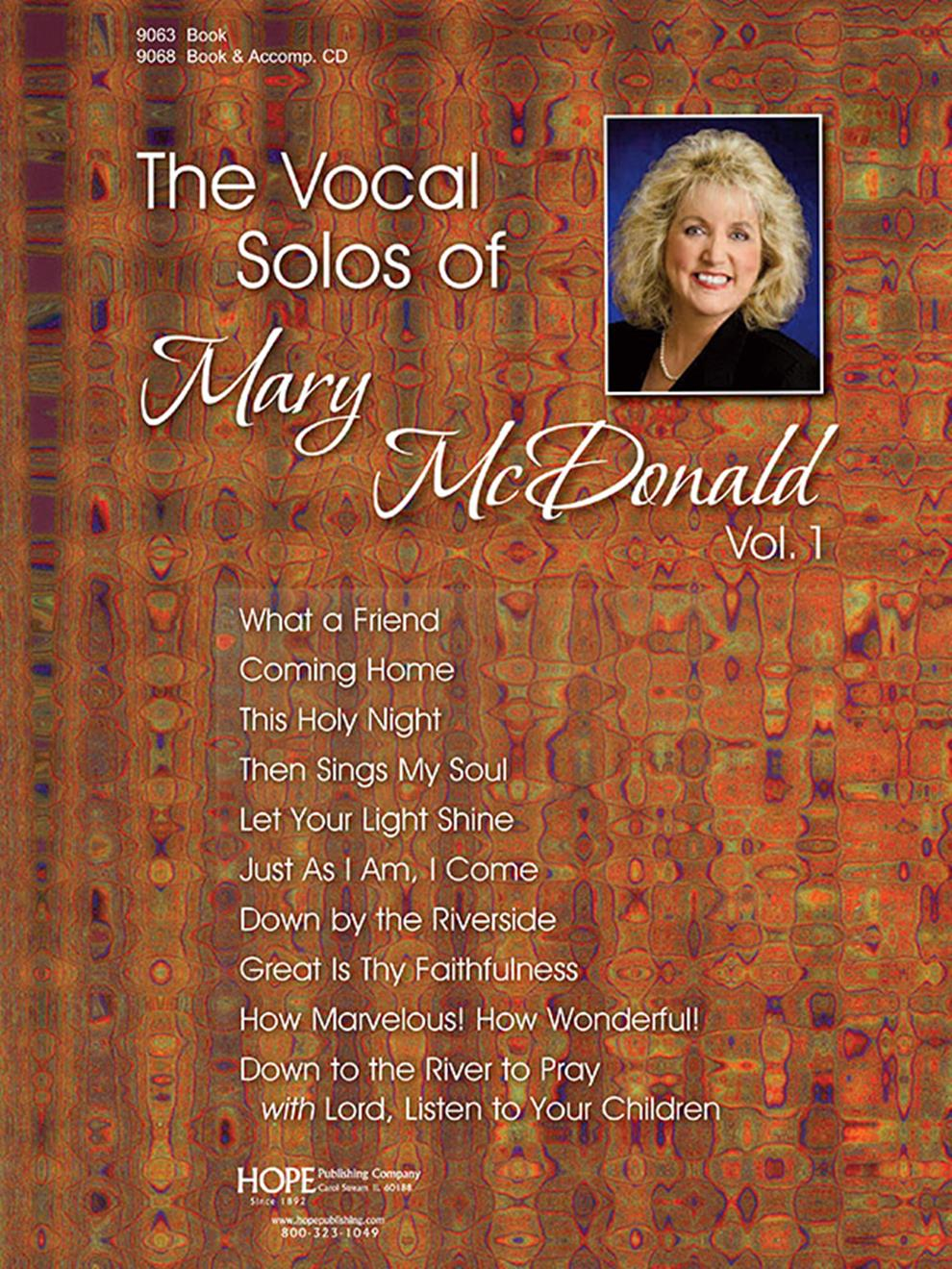 Vocal Solos of Mary McDonald Vol. 1 The - Score Cover Image