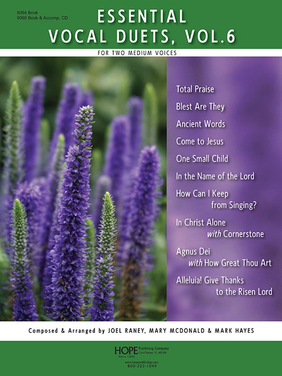 Essential Vocal Duets Vol. 6 - Score Cover Image