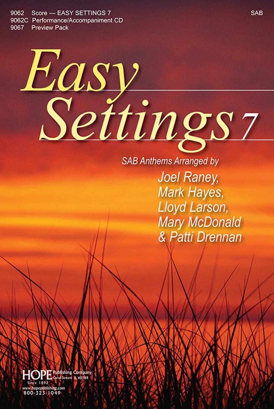 Easy Settings 7 - Score SAB Cover Image