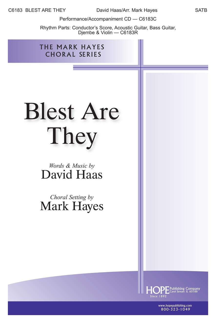 Blest Are They - SATB Cover Image