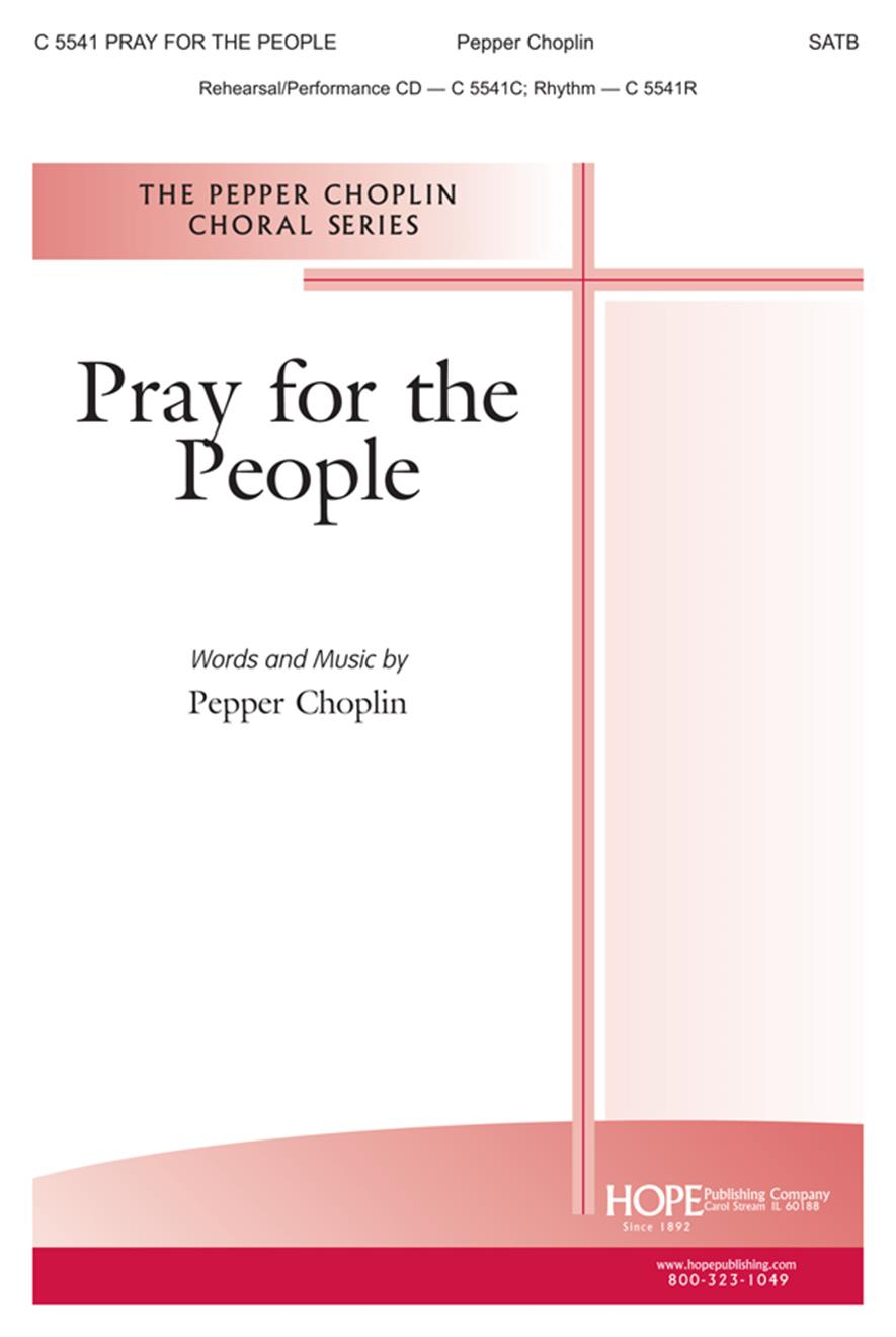 Pray for the People - SATB Cover Image