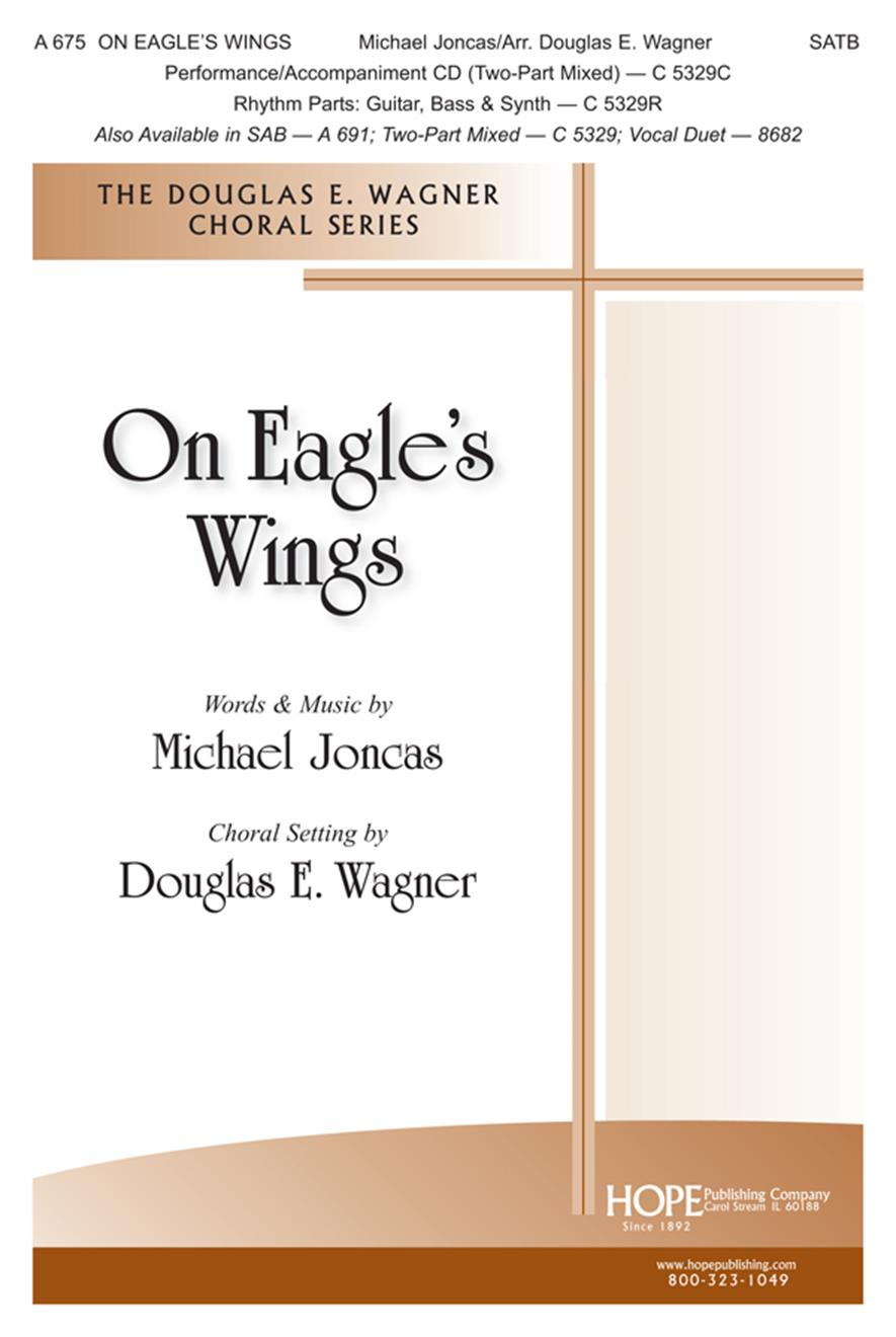 On Eagle's Wings - SATB Cover Image