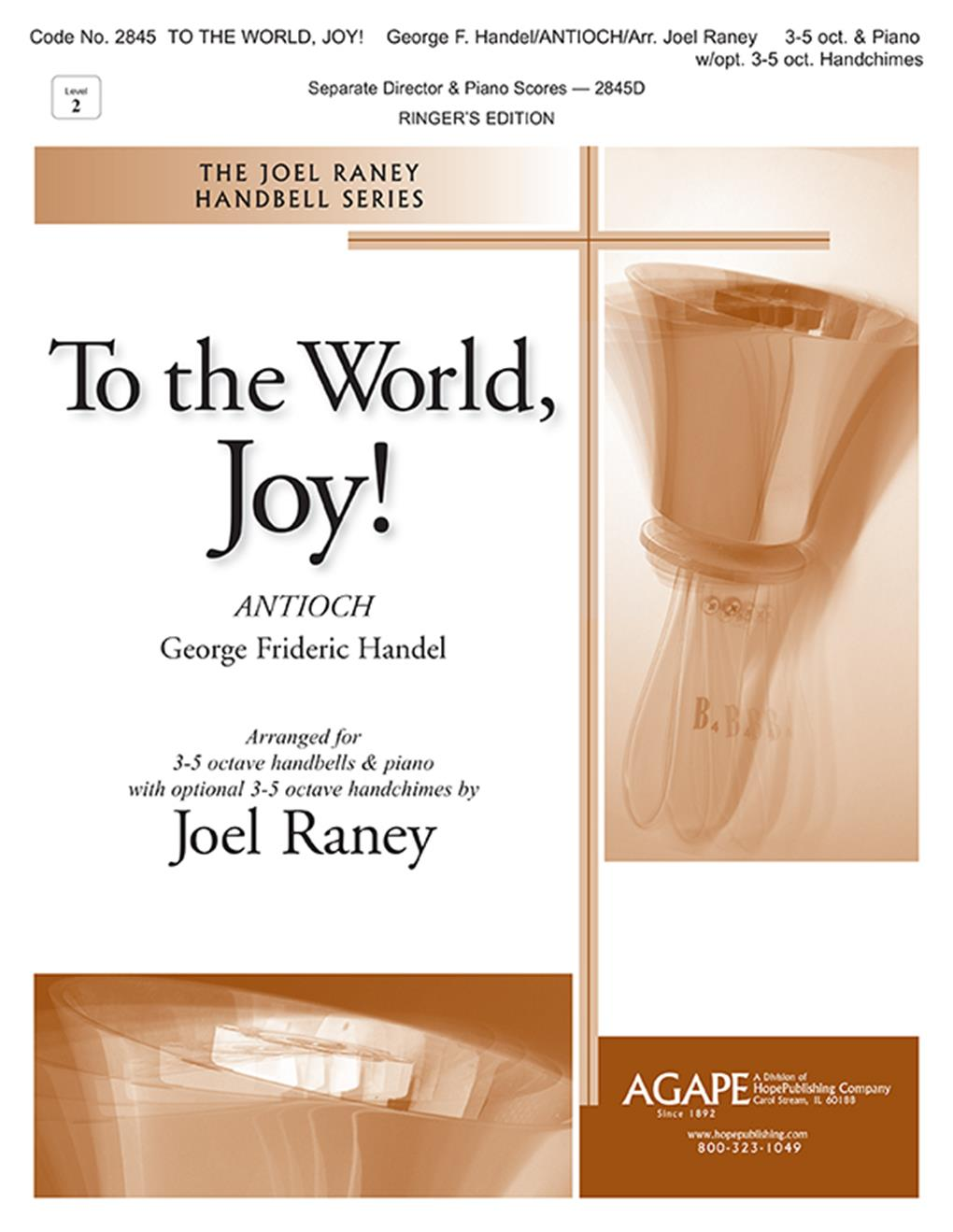 To the World Joy - 3-5 oct. w- piano Cover Image