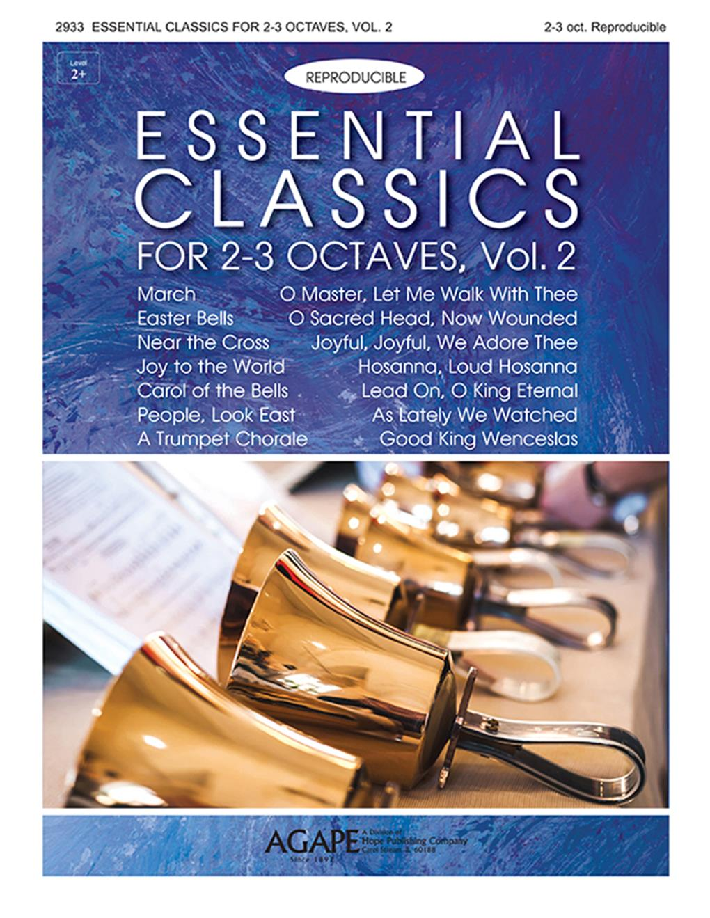 Essential Classics for 2-3 Octaves Vol. 2 (Reproducible) Cover Image