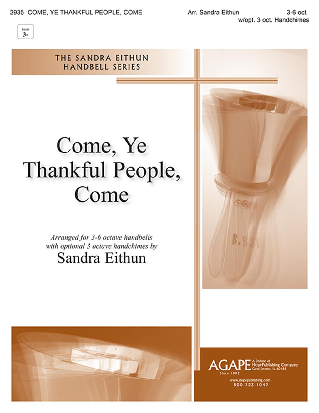 Come Ye Thankful People Come - 3-6 Oct. Cover Image