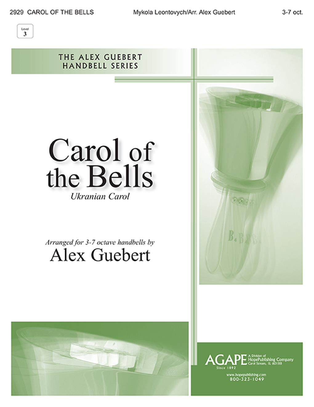 Carol of the Bells - 3-7 Oct. Cover Image