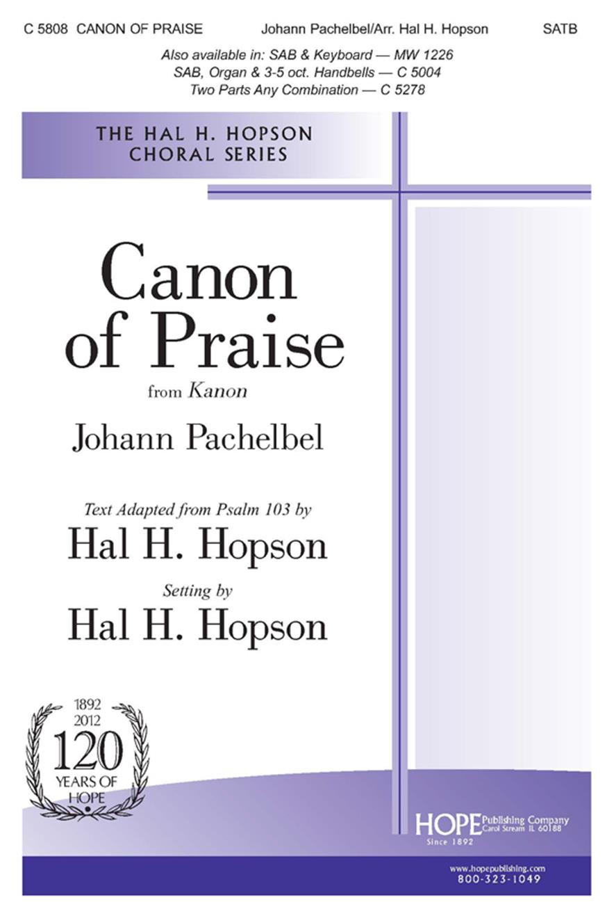 Canon of Praise - SATB Cover Image
