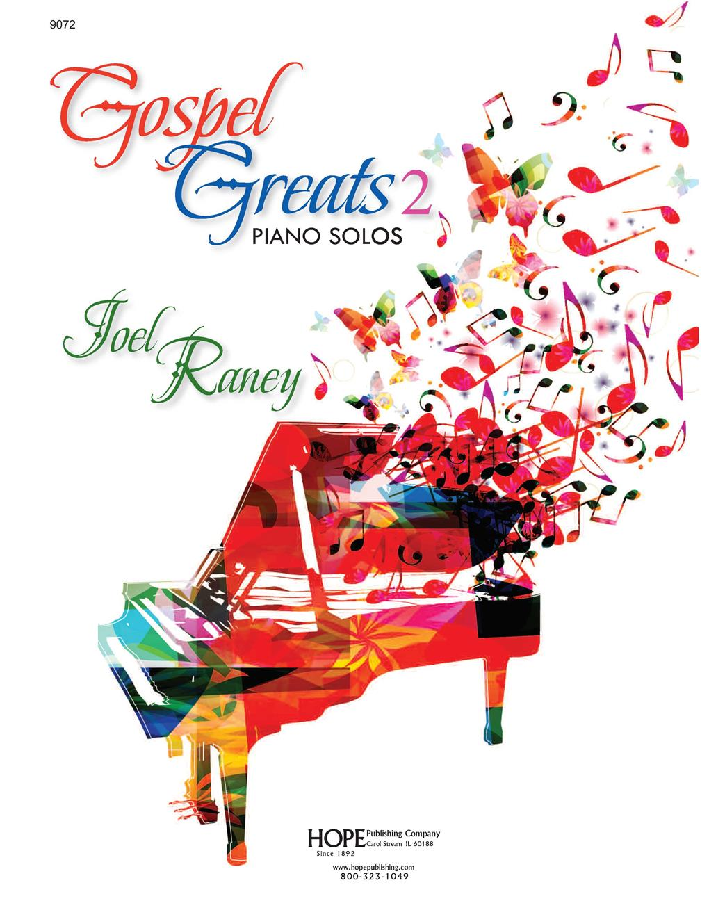 Gospel Greats 2 - Piano Solos Cover Image
