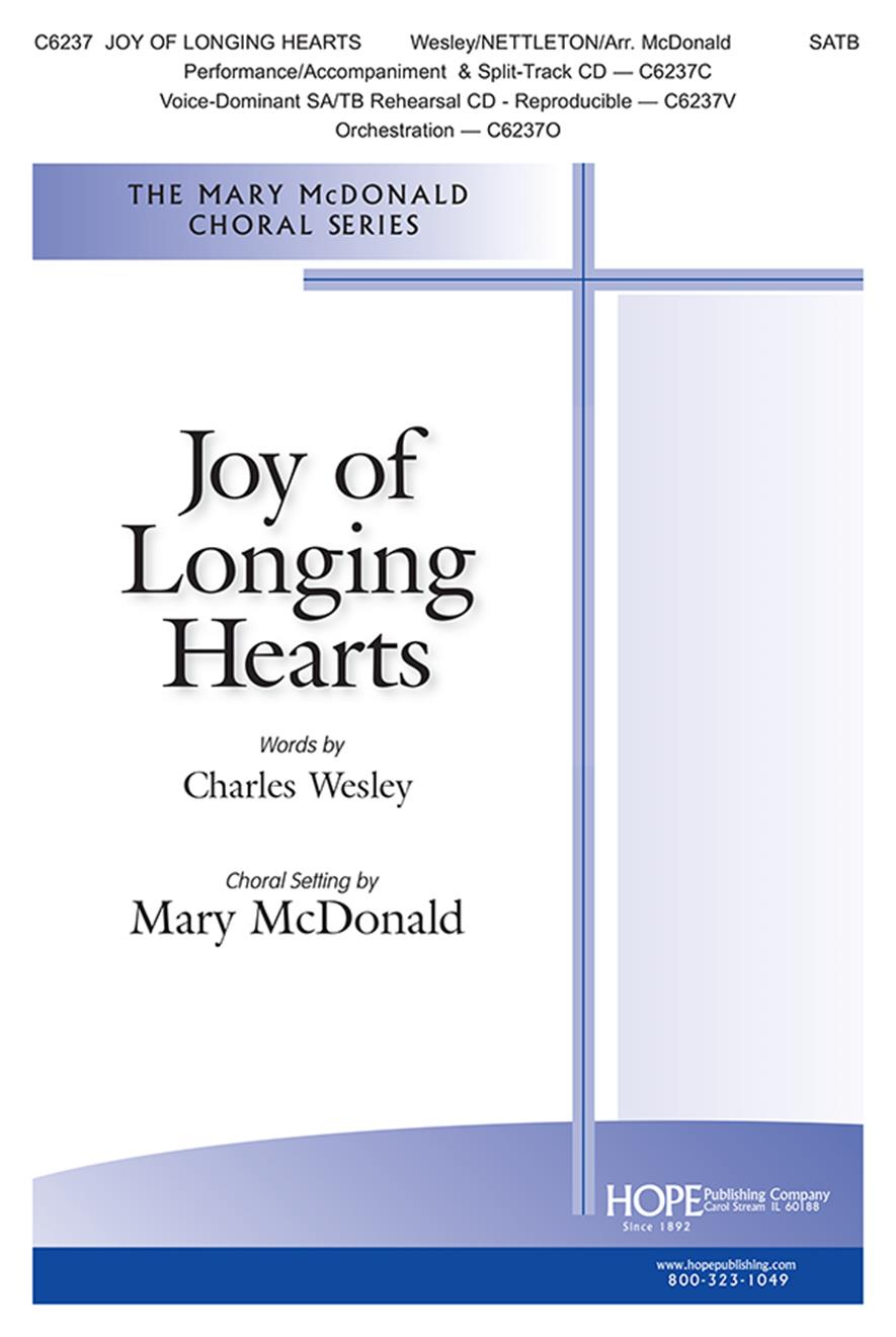 Joy of Longing Hearts - SATB Cover Image