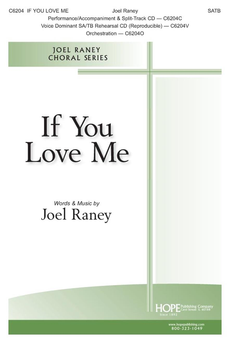 If You Love Me - SATB Cover Image
