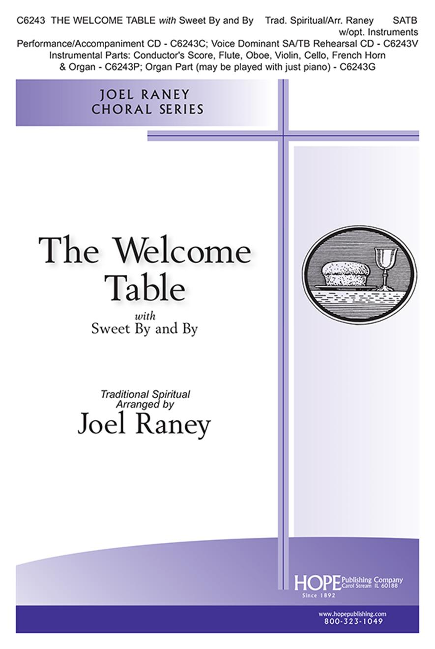 Welcome Table The - SATB Cover Image