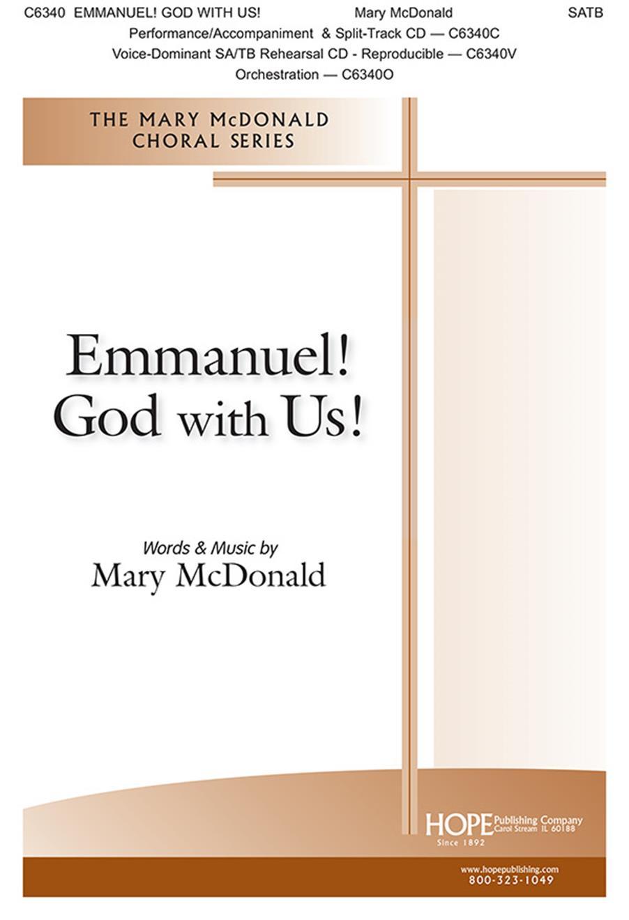 Emmanuel God with Us - SATB Cover Image