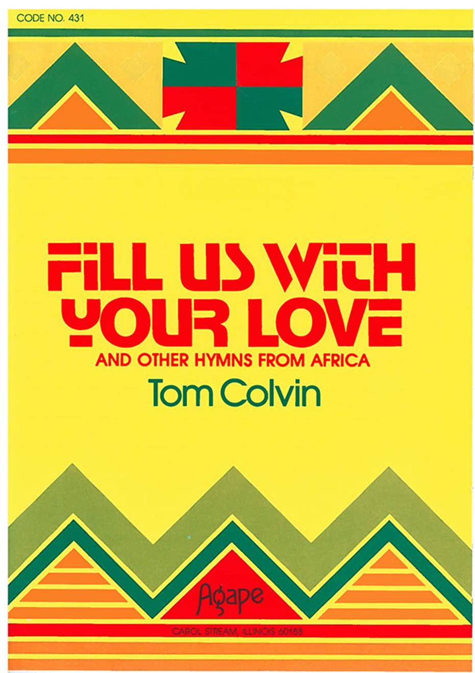 Fill Us with Your Love Songbook Cover Image