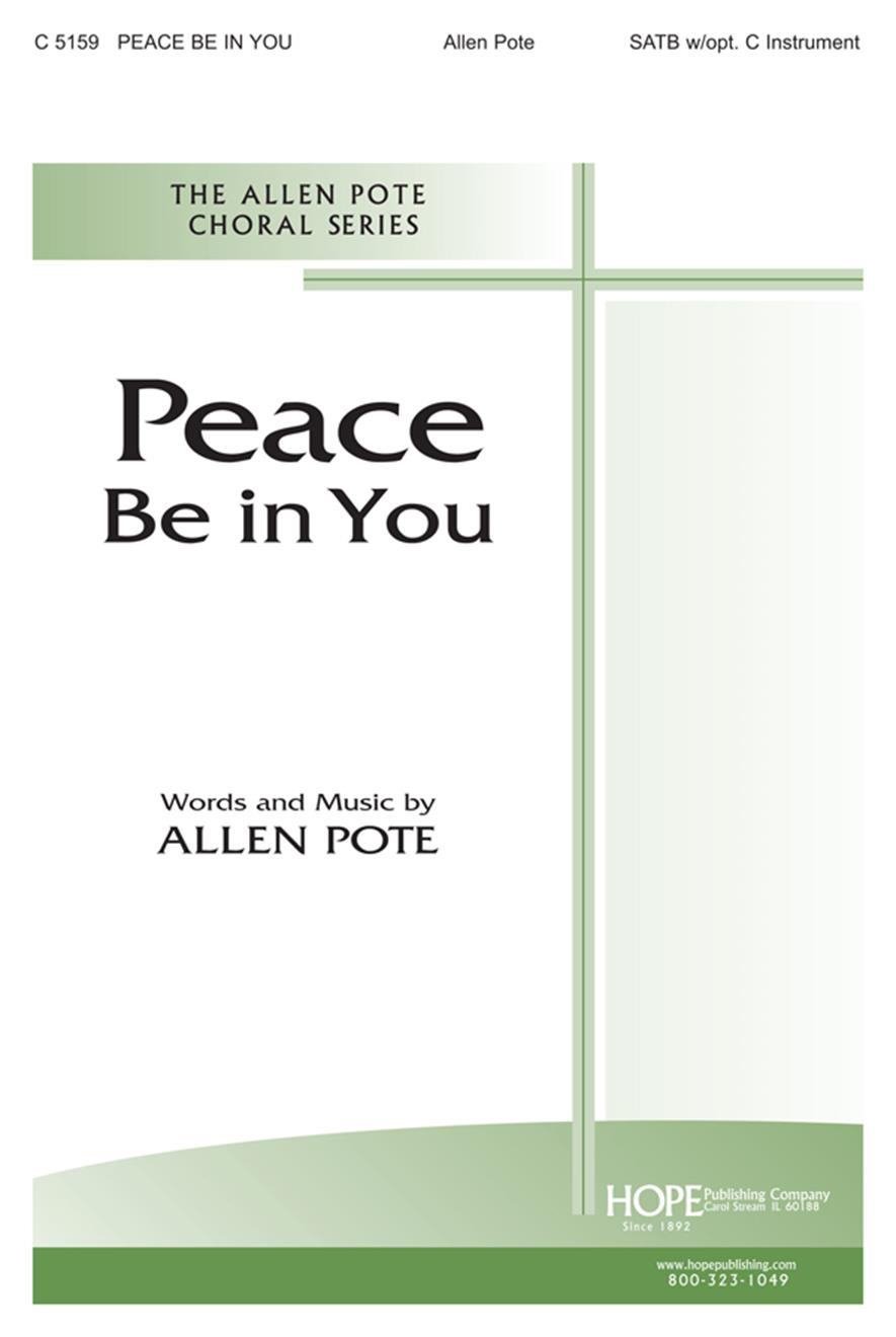 Peace Be in You - SATB Cover Image