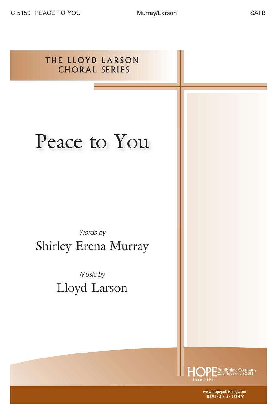 Peace to You - SATB Cover Image