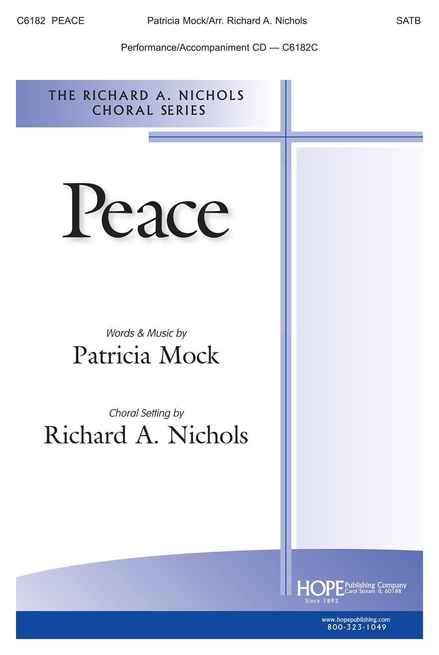 Peace - SATB Cover Image
