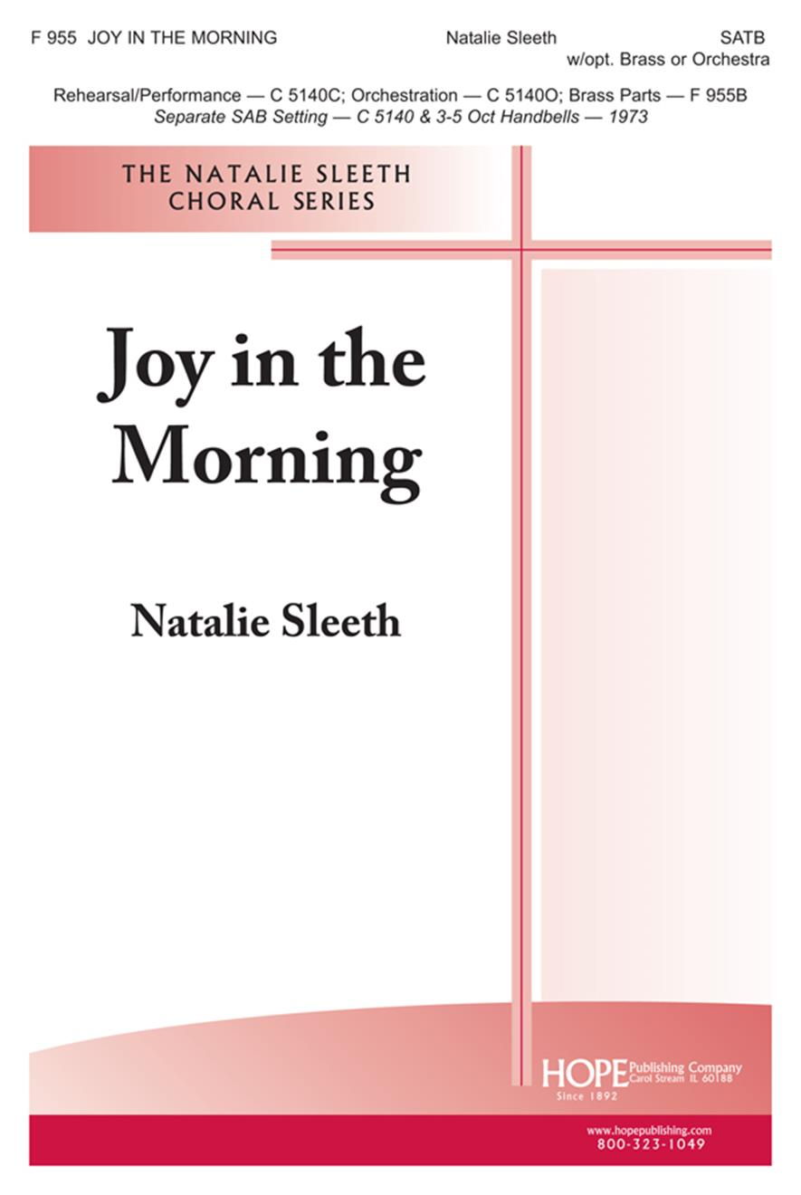 Joy in the Morning - SATB Cover Image
