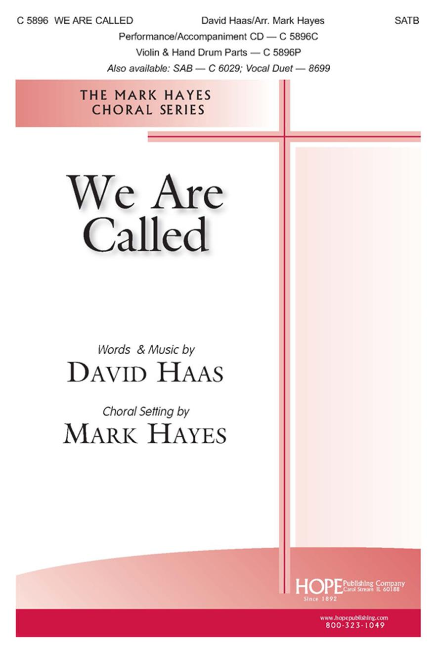 We Are Called - SATB Cover Image