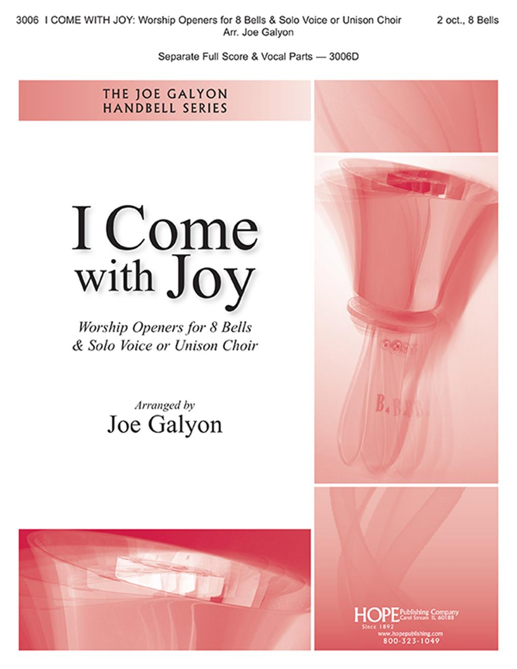 I Come with Joy: Worship Openers Ringers Ed Cover Image
