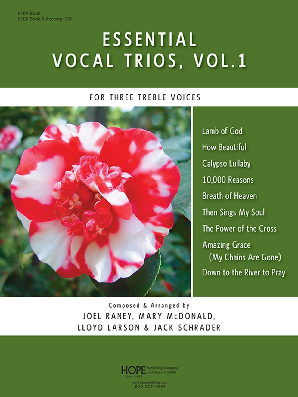 Essential Vocal Trios Vol 1 Cover Image