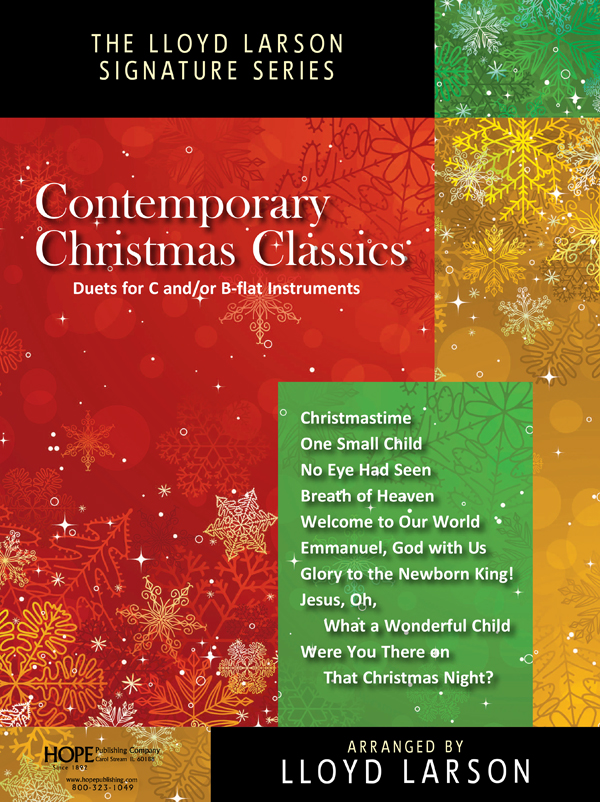 Contemporary Christmas Classics - Piano-Inst. Collection w-CD-Rom Cover Image