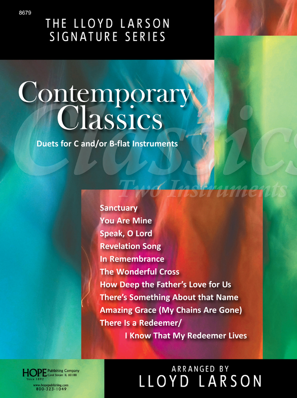 Contemporary Classics for C and B-Flat Instr. - Book and Accomp. CD Cover Image