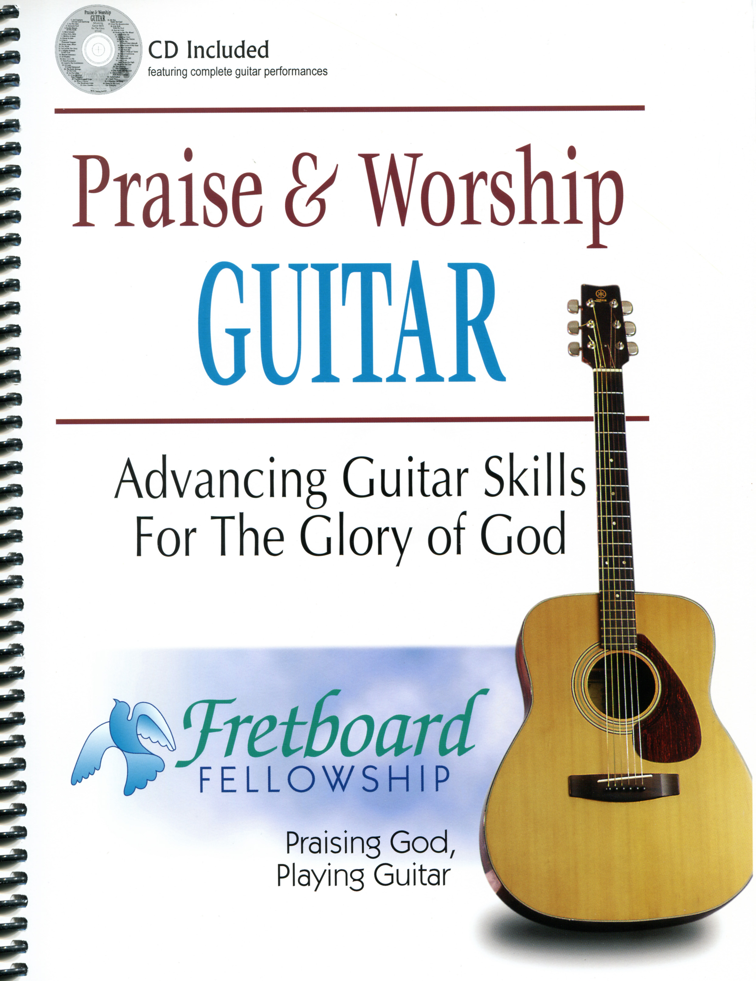 Praise and Worship Guitar w-CD Cover Image