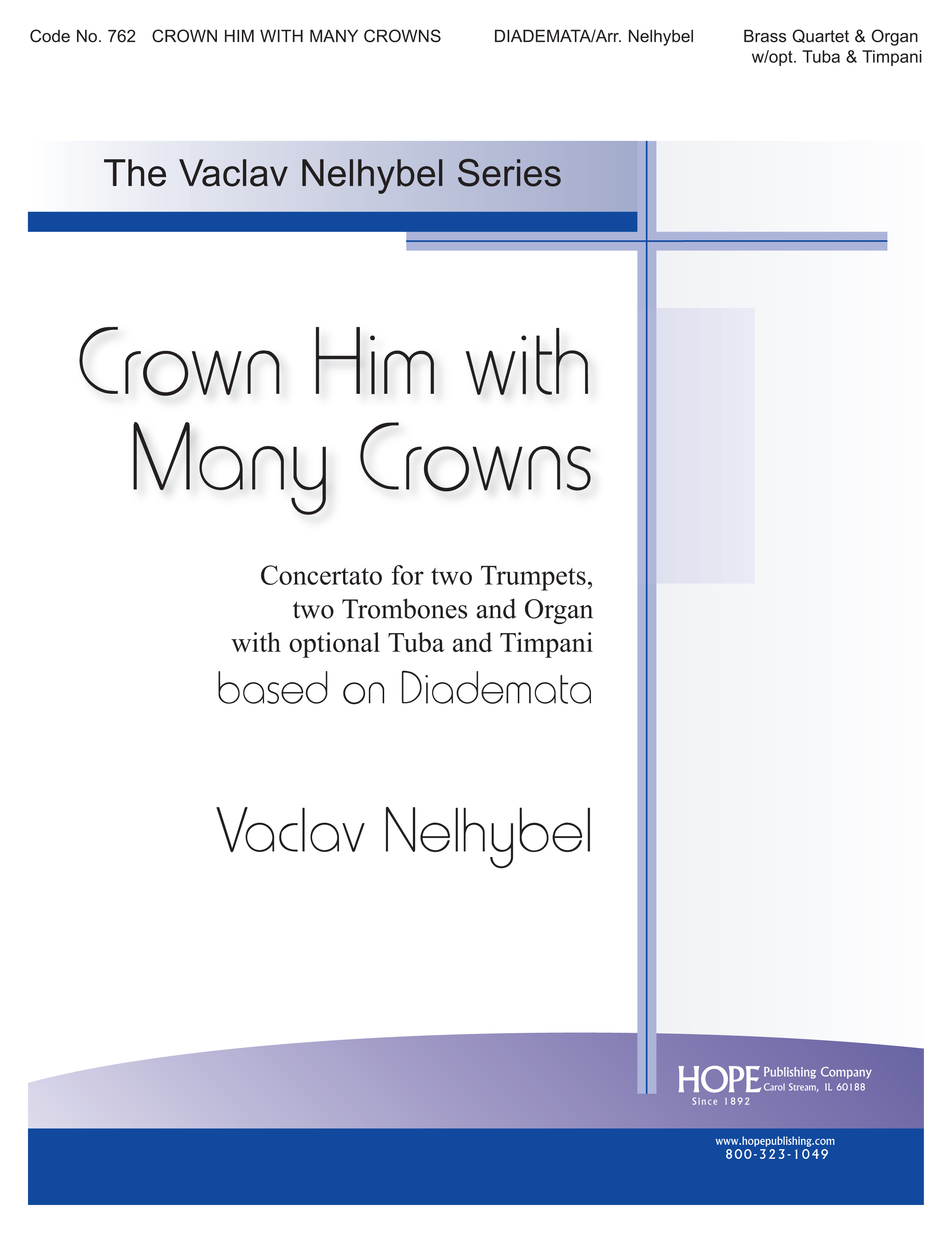 Crown Him with Many Crowns - Brass and Organ Cover Image