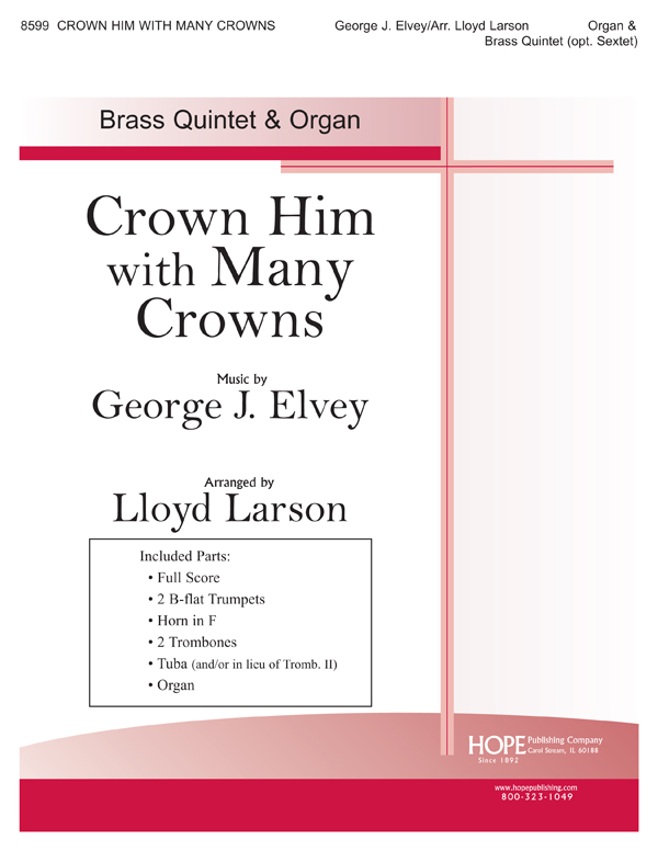 Crown Him with Many Crowns - Brass Quintet and Organ Cover Image