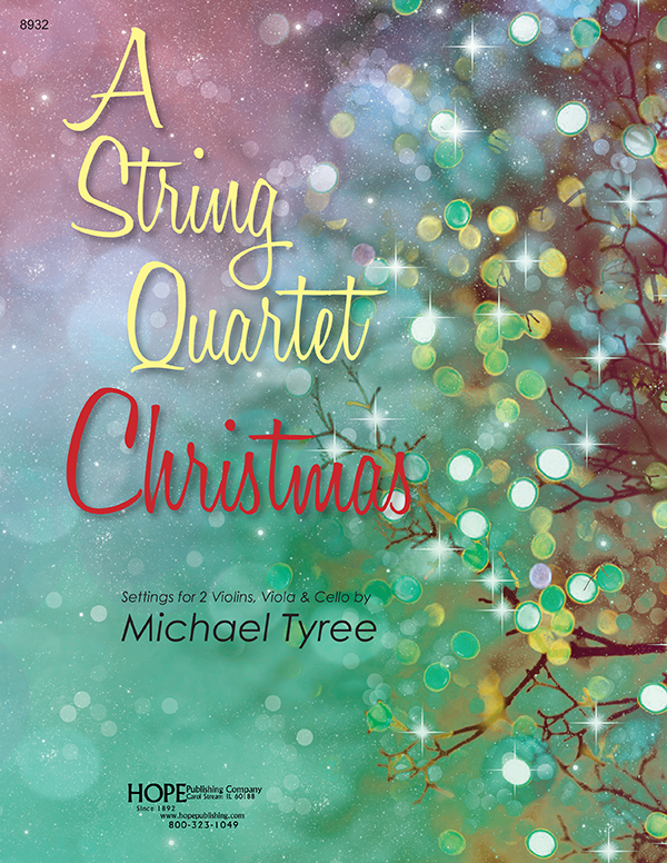 String Quartet Christmas A Cover Image