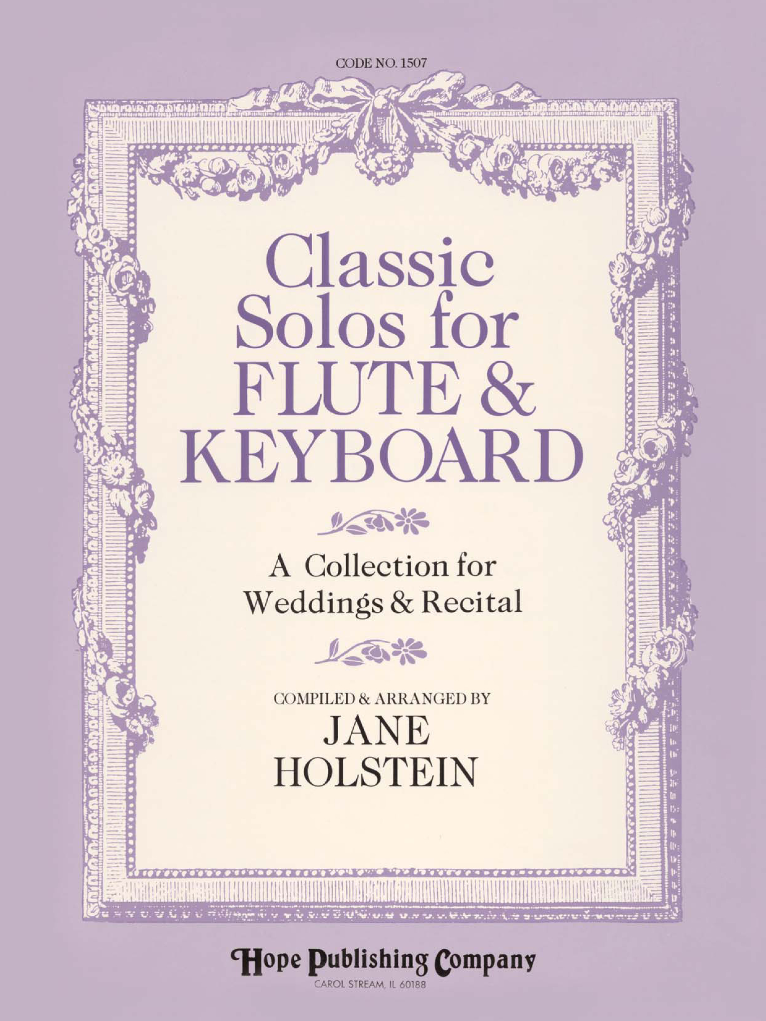 Classic Solos for Flute and Keyboard Cover Image