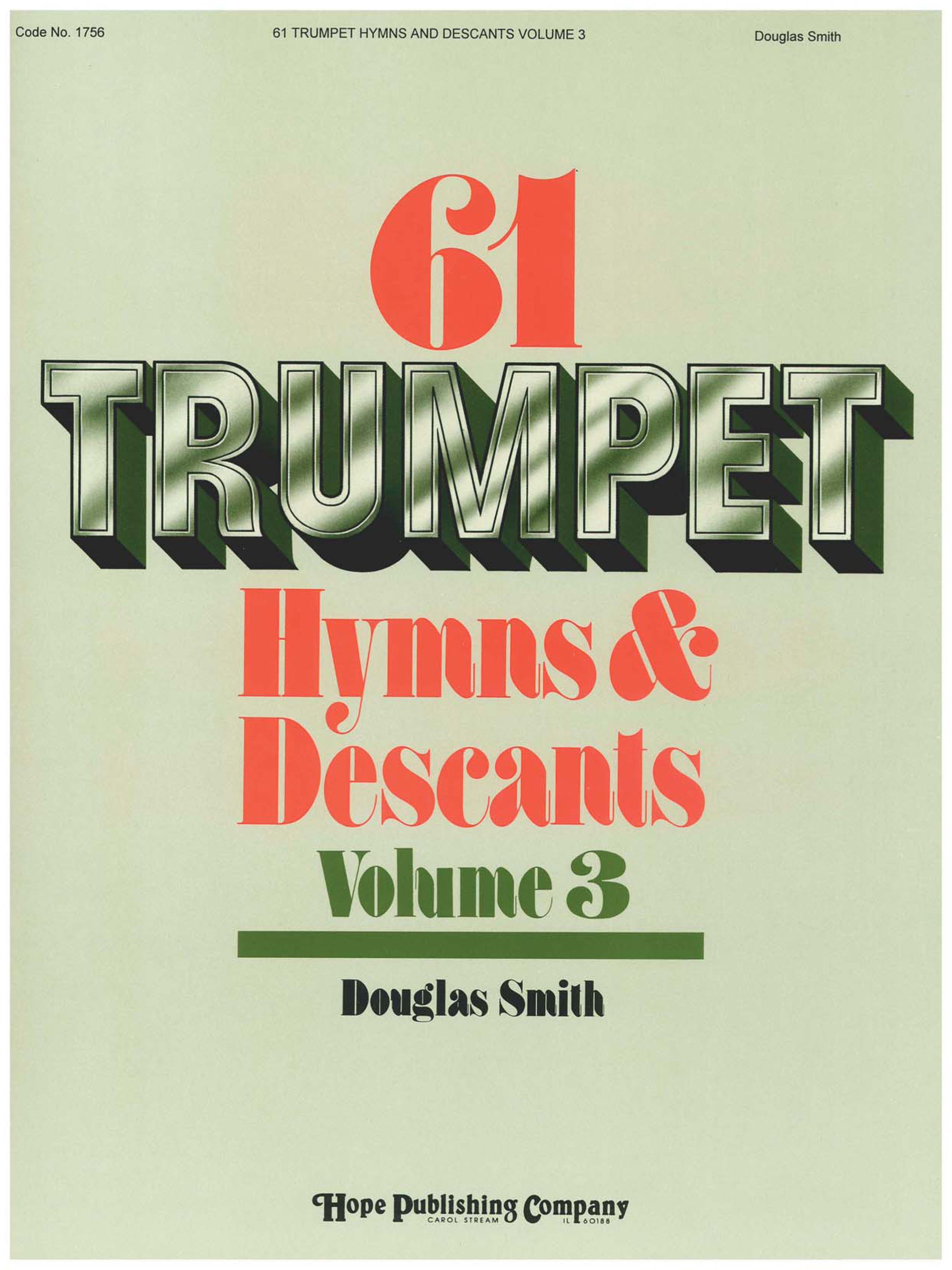 61 Trumpet Hymns and Descants Vol. 3 Cover Image