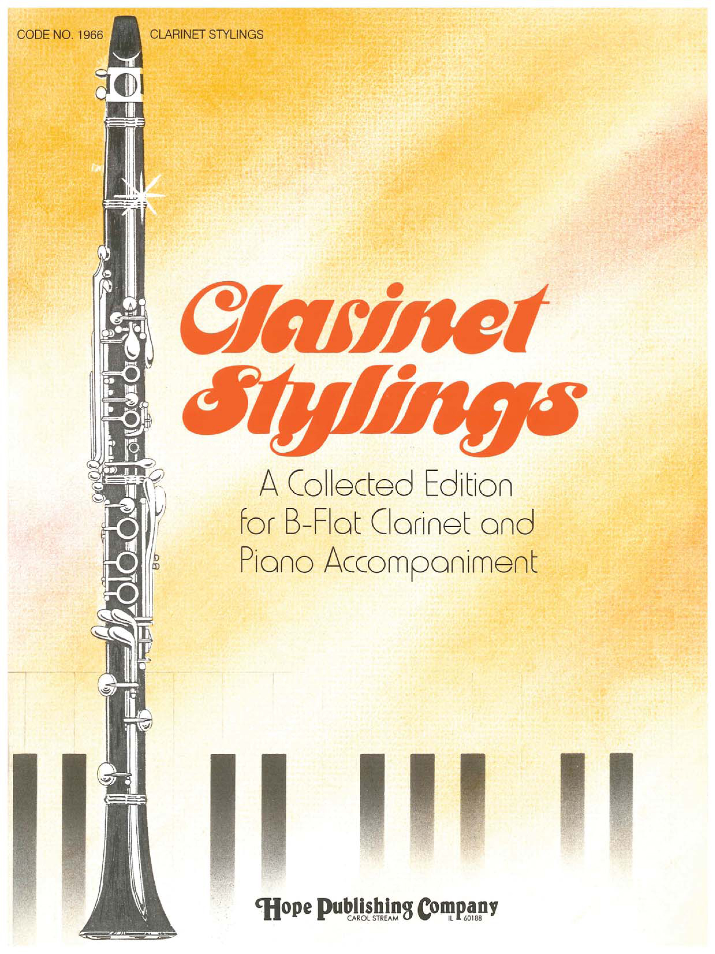 Clarinet Stylings Cover Image
