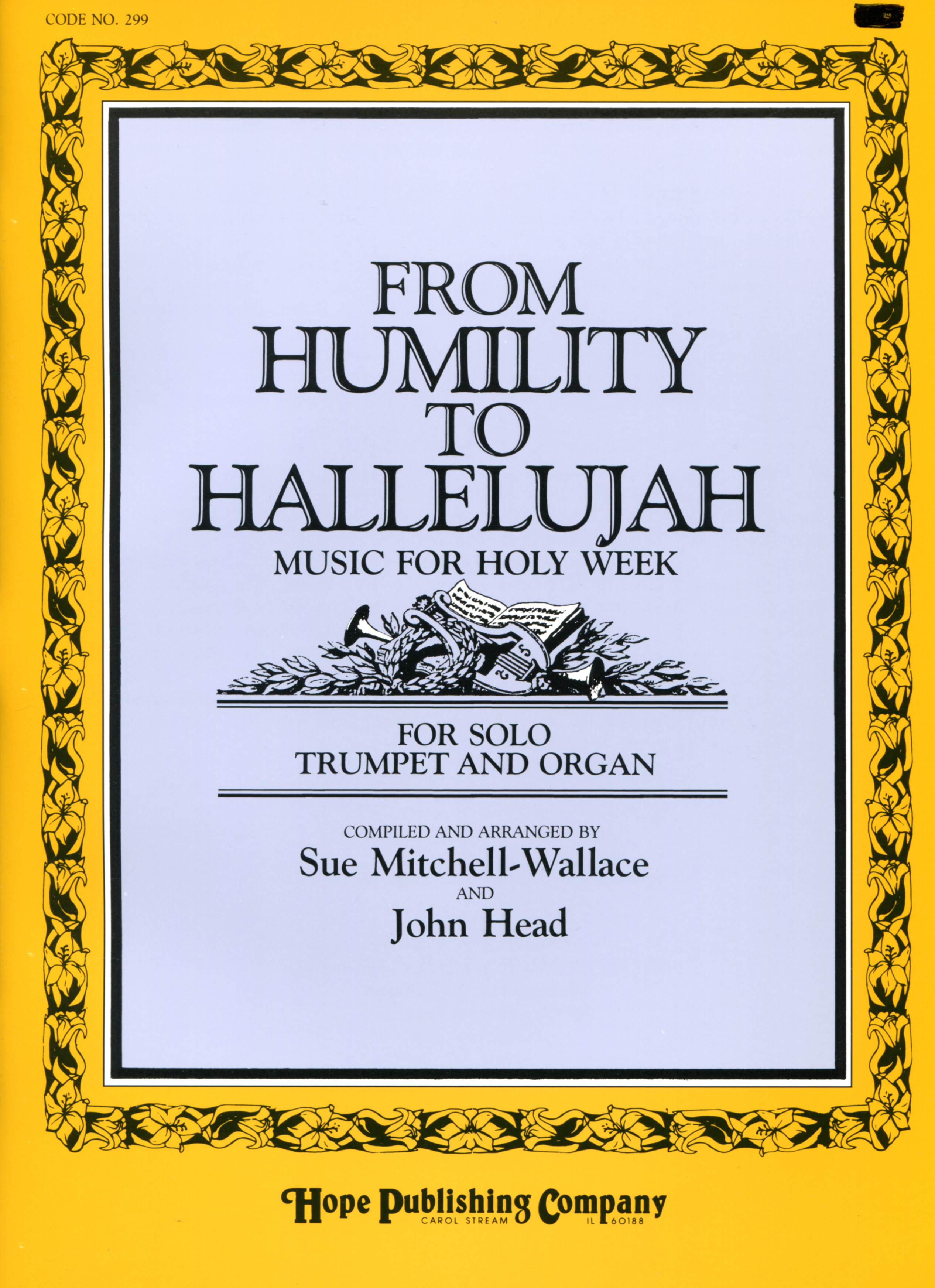 From Humility to Hallelujah - Organ and Solo Trumpet Cover Image