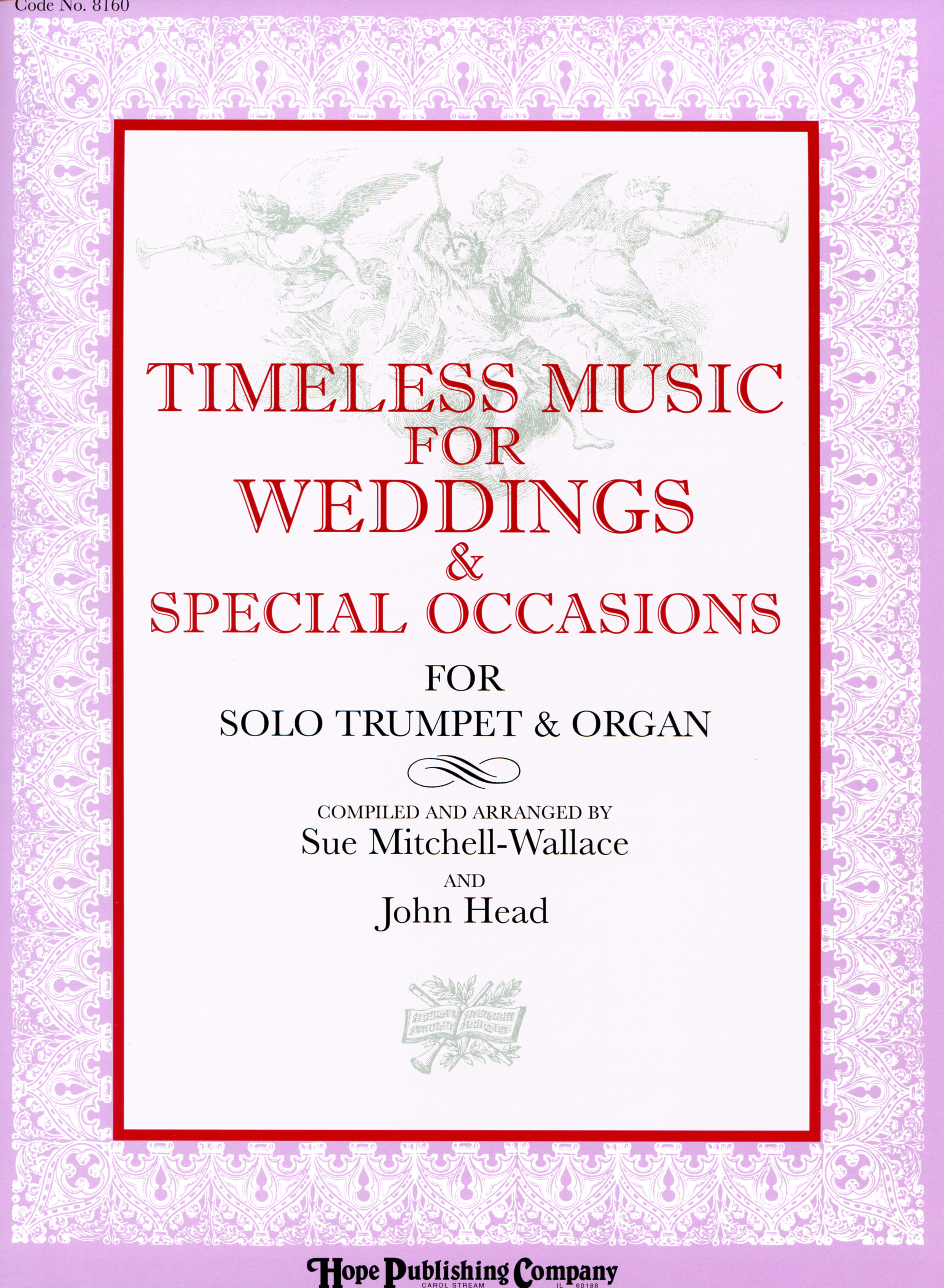 Timeless Music for Weddings and Special Occasions - Organ and Trumpet Cover Image