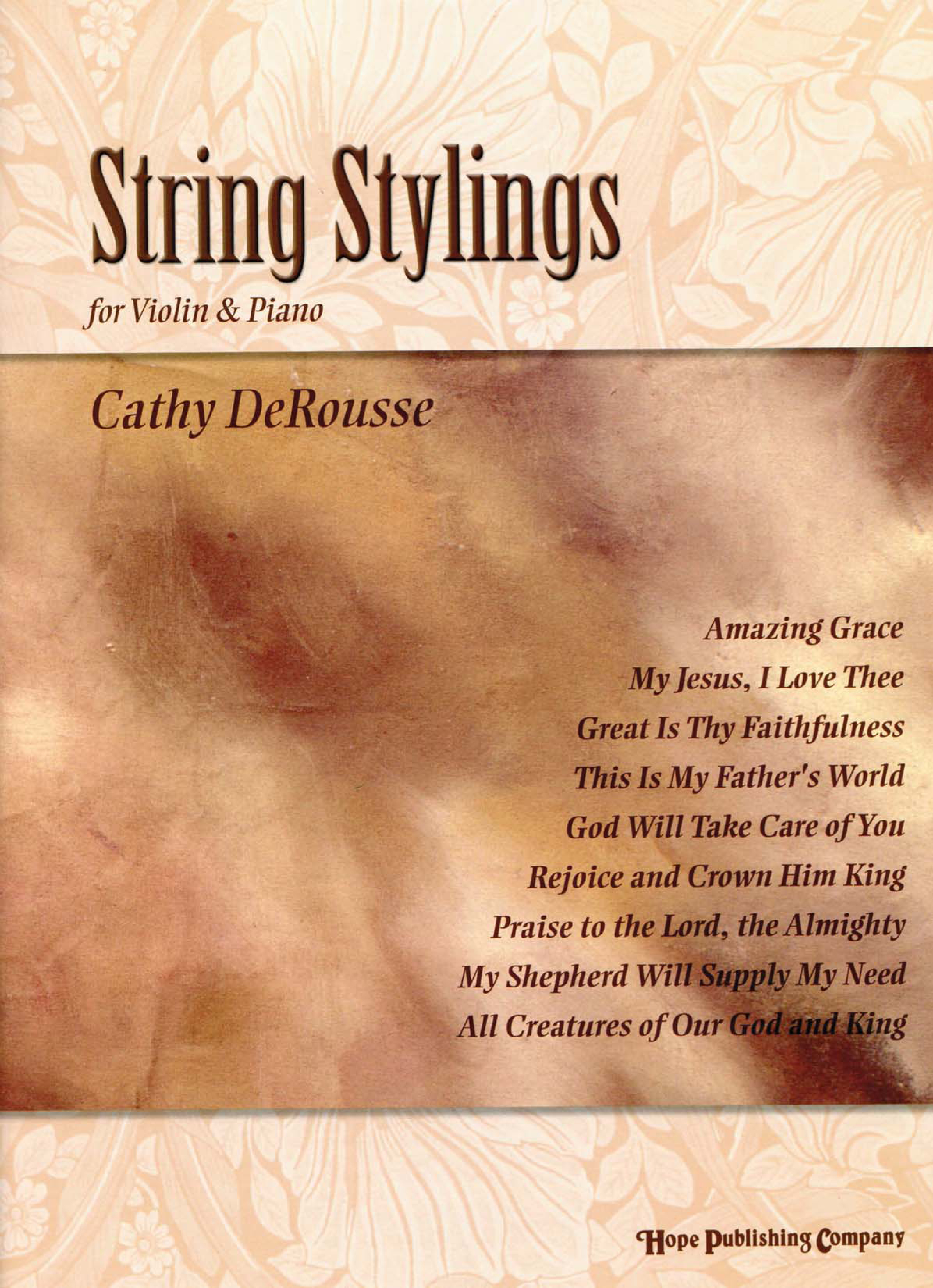 String Stylings (For Violin and Piano) Cover Image