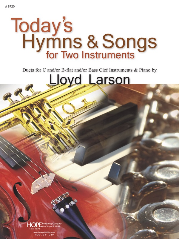 Today's Hymns and Songs 2 Instruments Vol 1 Cover Image