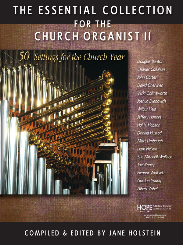 Essential Collection for the Church Organist II The Cover Image