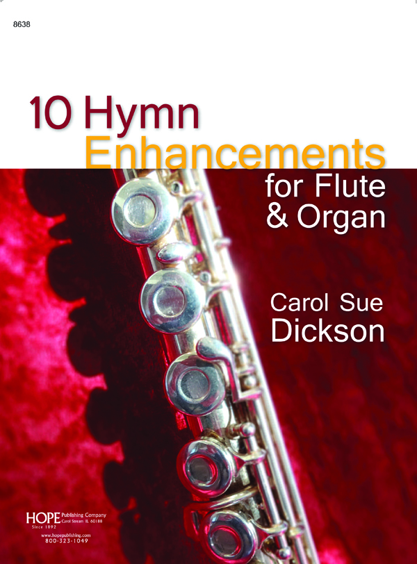 Ten Hymn Enhancements - Flute and Organ Cover Image