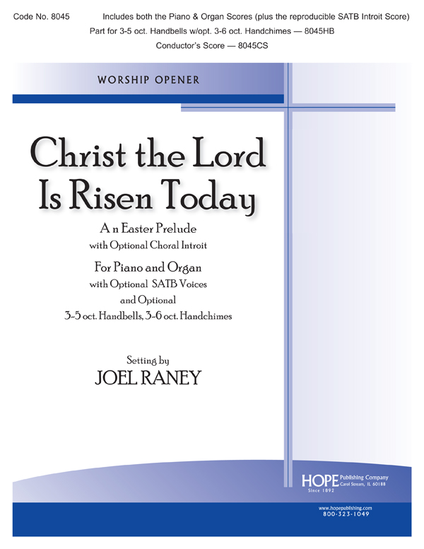 Christ the Lord Is Risen Today - Organ-Piano Duet Cover Image