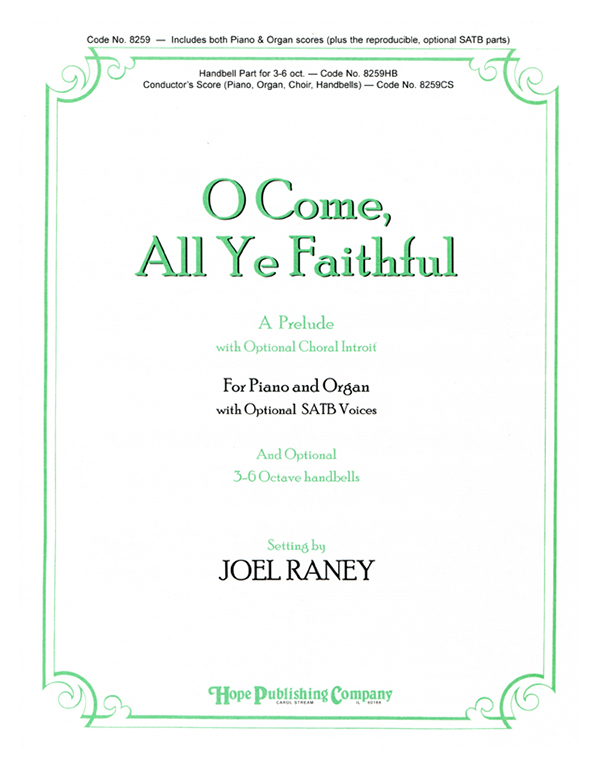 O Come All Ye Faithful - Piano-Organ Cover Image
