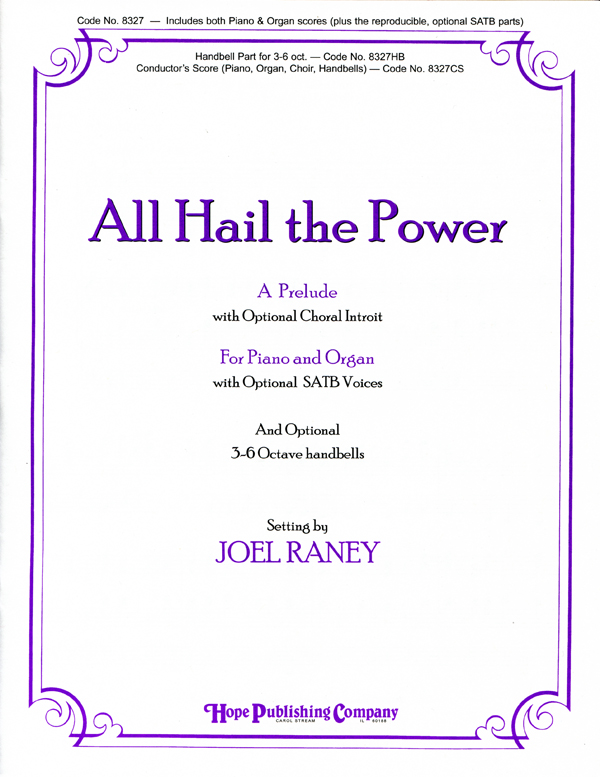 All Hail the Power - Piano-Organ Cover Image