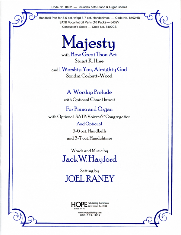 Majesty - Organ-Piano Duet Cover Image
